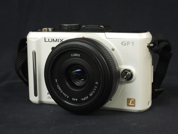 Panasonic パナソニック LUMIX GF1 パンケーキレンズキット DMC-GF1C-W カメラ ミラーレス一眼 シェルホワイト