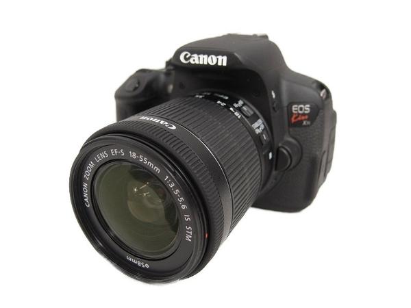 Canon キヤノン 一眼レフ EOS Kiss X7i レンズキット KISSX7i-1855ISSTMLK カメラ デジタル