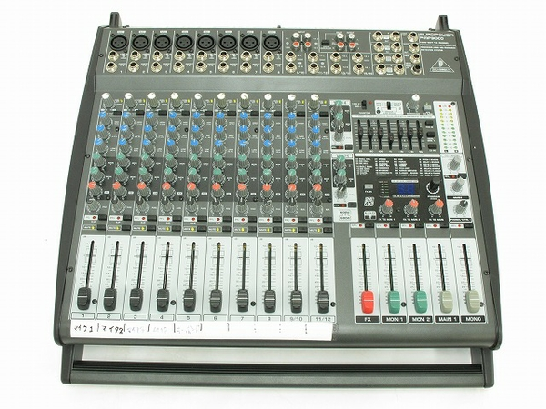 BEHRINGER PMP3000  EUROPOWER 12ch ミキサー レコーディング