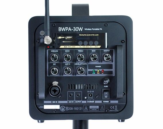 Belcat ベルキャット W/L ポータブルPA BWPA-30W/1 806.125MHz 1ch ワイヤレス ポータブル PAアンプ