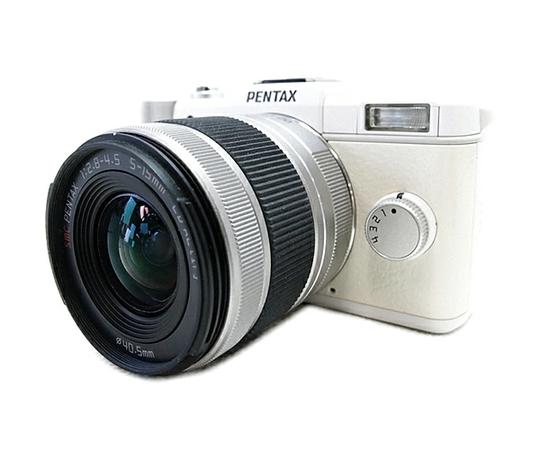 RICOH リコー Pentax Q ズームレンズキット ホワイト ミラーレス 一眼 ホワイト PENTAX-02 STANDARD ZOOM