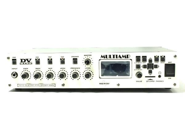 DVMark MULTIAMP MONO DVM-MTAMP/M マルチ アンプ ・ モノ ギター ヘッド アンプ 音響 オーディオ