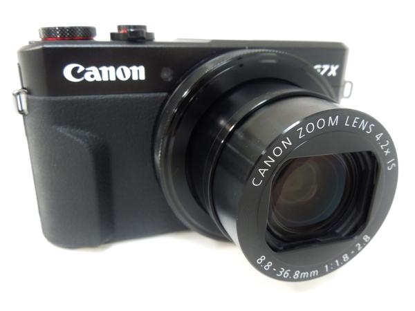 Canon キャノン デジタルカメラ PowerShot G7 X  MARK II ブラック コンデジ デジカメ