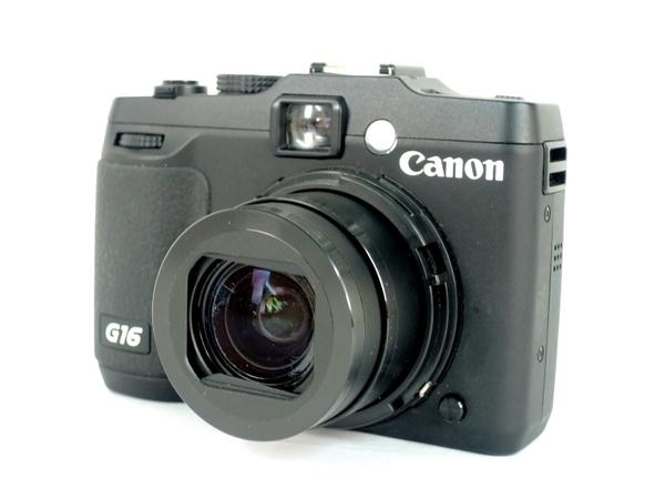 Canon キヤノン PowerShot G16 PSG16 デジタル カメラ COMPACT ブラック