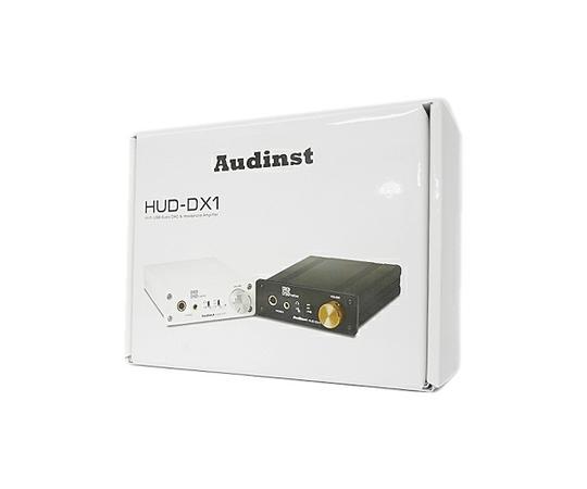 Audinst オーディンスト HUD-DX1 ポータブル ヘッドホンアンプ ハイレゾ対応 ホワイト