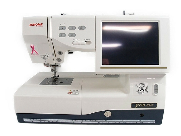 JANOME ジャノメ SECiO 11500 コンピューターミシン 刺繍機能付