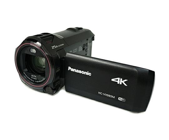 Panasonic パナソニック 4K ビデオカメラ HC-VX985M ブラック 光学20倍 内蔵64GB デジタル ハンディ カメラ