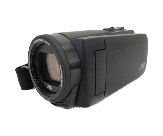 JVC 防水 ビデオカメラ Everio R GZ-RX670 ハイビジョン Wi-Fi 内蔵メモリ ブラック