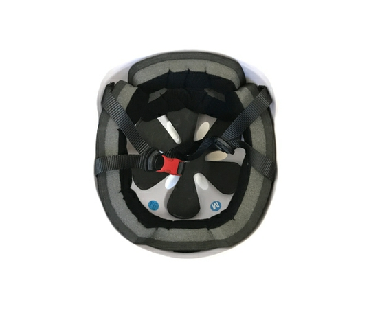 バランススクーター 大人用 ヘルメット ホワイト 56-58cm ミニセグウェイ プロテクター [単体での注文不可]  (3)