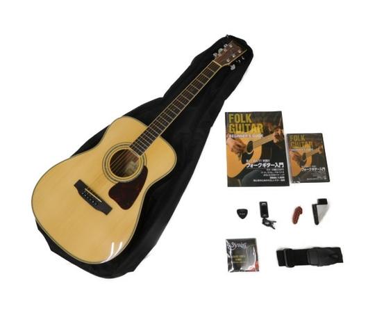 S.Yairi ヤイリ アコースティックギター 入門セット 教則DVD付 YF-5R N フォークギター延長料金100円/1日