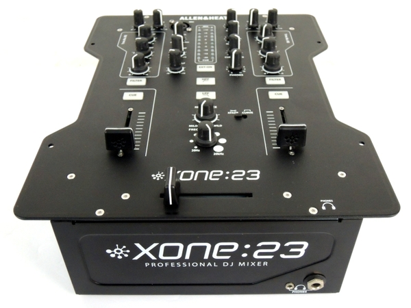ALLEN&HEATH XONE:23 DJ用 アナログミキサー オーディオ機器