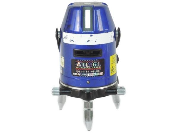 KDS ATL-61 レーザー 墨出し器 防塵 防滴 IP54 LRV-4 受光器 付属 工具 光学測定器 ケーディーエス
