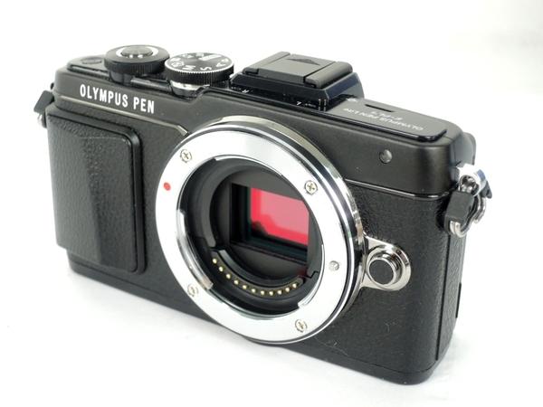 OLYMPUS オリンパス PEN Lite E-PL7 ボディ 一眼レフ カメラ ミラーレス ブラック
