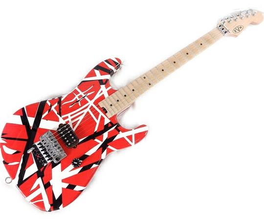 EVH ヴァン・ヘイレン ストライプシリーズ Eddie Van Halen Striped Series Red with Black  エレキギター 楽器