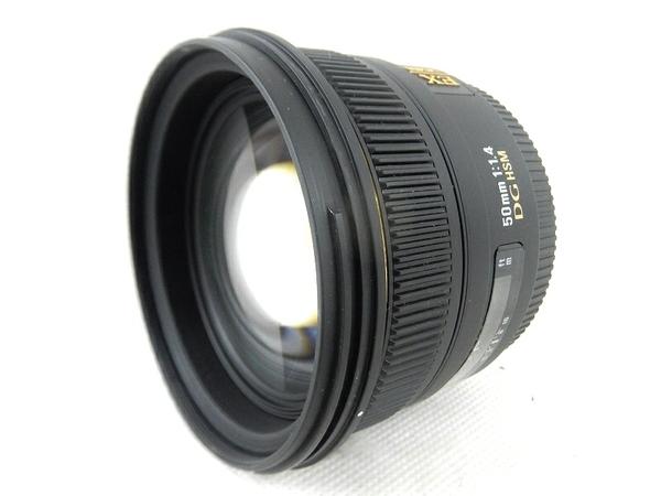SIGMA シグマ 50mm F1.4 EX DG HSM ソニー用 カメラ レンズ