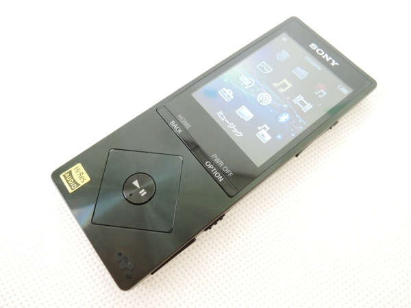 SONY ソニー WALKMAN NW-A17 B ポータブルオーディオプレーヤー 64GB ブラック