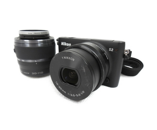 Nikon 1 S2 ダブルズームキット ブラック Nikon 1 S2 WZ BK