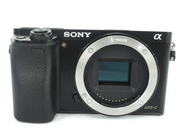 SONY ソニー ミラーレス 一眼 α6000 パワーズーム レンズキット ILCE-6000L デジタル カメラ ブラック