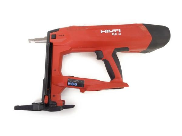 HILTI BX 3-ME バッテリー式 釘打ち機 電動工具 バッテリー2個 エアーツール