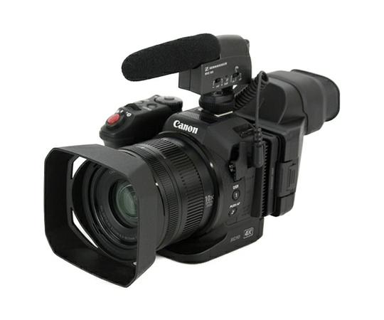 Canon キヤノン 業務用 ビデオカメラ XC10 ガンマイク メモリーカードセット 4K 小型・軽量 Wi-Fi