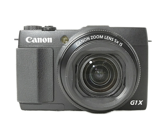 Canon キヤノン PowerShot G1 X MARK II デジタル カメラ コンデジ ブラック