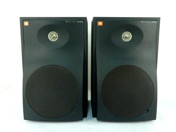 JBL 4208 スピーカー ペア オーディオ機器 スタジオモニター
