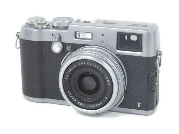 FUJI FILM 富士フイルム X X100T SILVER デジタルカメラ コンデジ シルバー
