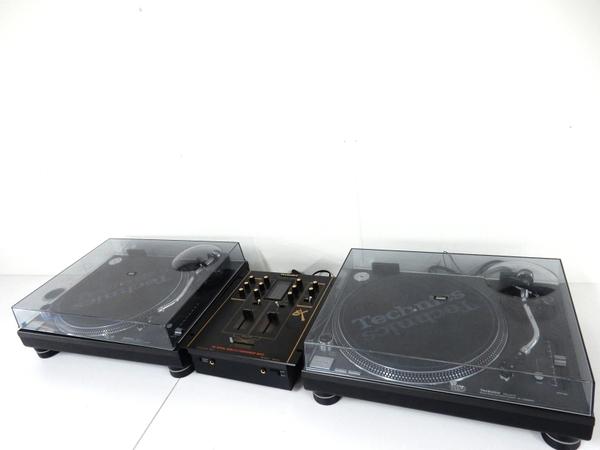 Technics SL-1200MK5 SH-EX1200 ターンテーブル DJセット ブラック