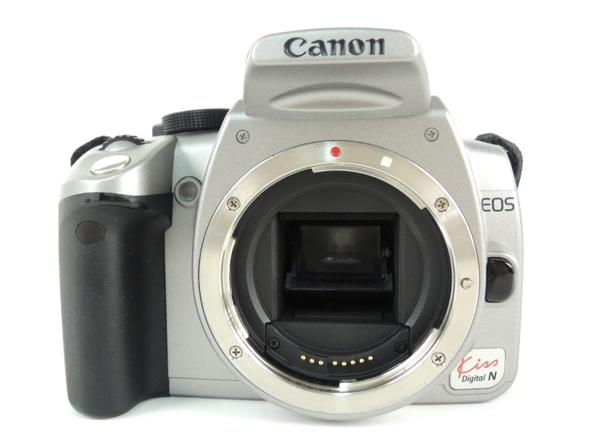 Canon キヤノン EOS Kiss Digital N カメラ デジタル 一眼レフ ボディ シルバー KISSDNS-BODY