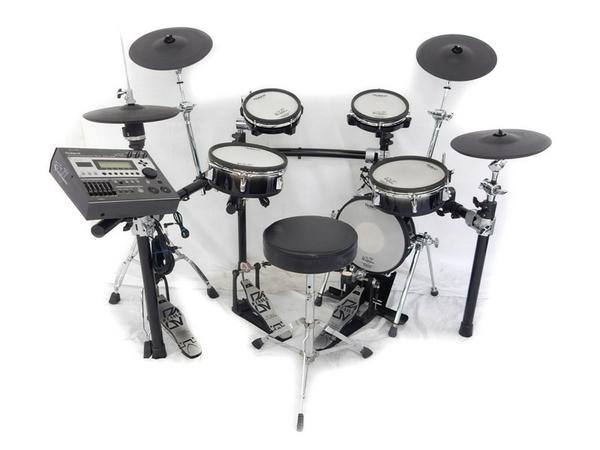 Roland V-Stage series TD-12KX 電子ドラム HP-300TW ツインペダル付