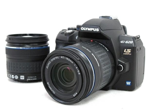 OLYMPUS オリンパス E-620 ダブルズームキット デジタル一眼レフカメラ