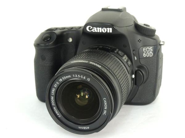 Canon キヤノン EOS 60D EF-S18-55 IS レンズキット EOS60D1855ISLK カメラ デジタル一眼レフ ブラック