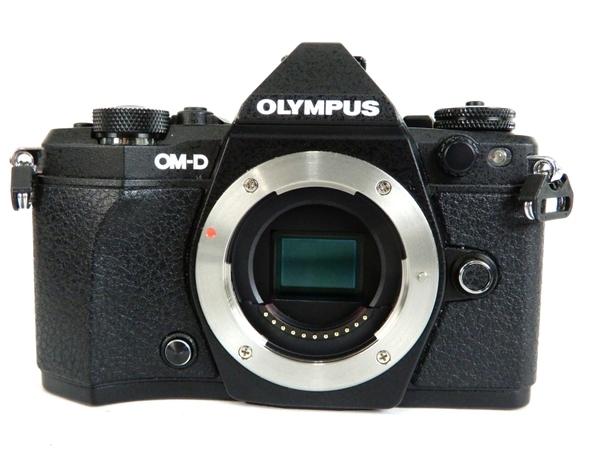 OLYMPUS オリンパス ミラーレス一眼 OM-D E-M5 Mark II ボディ ブラック デジタル カメラ