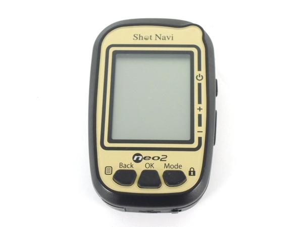テクタイト Shot navi neo2 GPS ゴルフナビ ショットナビ
