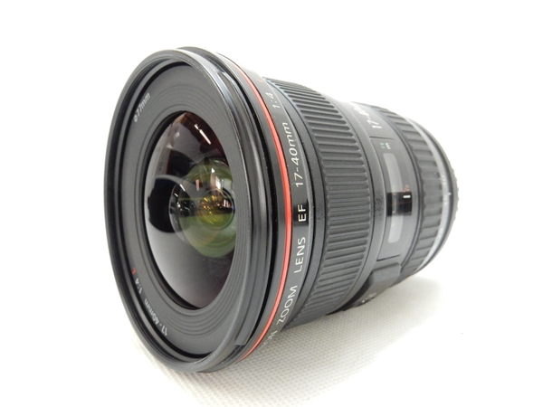Canon キヤノン EF17-40mm F4L USM EF17-404L E カメラレンズ ズーム 超広角