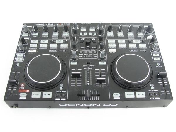 DENON デノン MC3000 USB MIDI DJ コントローラー ブラック