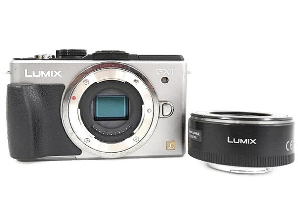Panasonic パナソニック ミラーレス一眼 LUMIX GX1 レンズキット ブレードシルバー DMC-GX1X-S デジタル カメラ