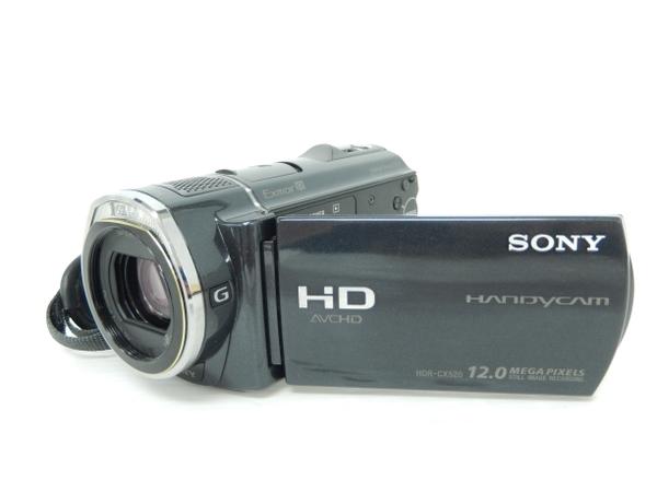 SONY ソニー ビデオカメラ HandyCam HDR-CX520V ブラック