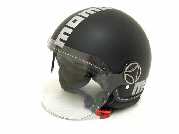 MOMO DESIGN モモデザイン FGTR EVO ヘルメット 2012 マットブラック×マットグレイ MLサイズ