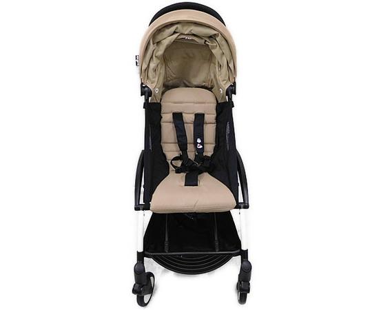Baby Zen ベビーゼン ヨーヨープラス 6+ ベビーカー ホワイトフレーム ミルク Yoyo 6+ Stroller ベビー ストローラー コンパクト
