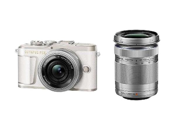 OLYMPUS オリンパス ミラーレス一眼 PEN E-PL9 EZ ダブルズームキット ホワイト デジタル カメラ