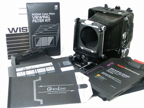 WISTA ウィスタ 45 SP ボディ 光学機器 大判 フィルムカメラ フィールドカメラ 希少
