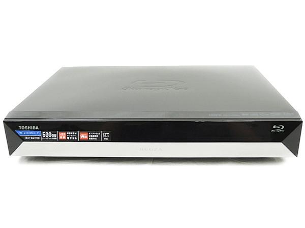 TOSHIBA 東芝 REGZA レグザブルーレイ RD-BZ700 BD ブルーレイ レコーダー 500GB ブラック