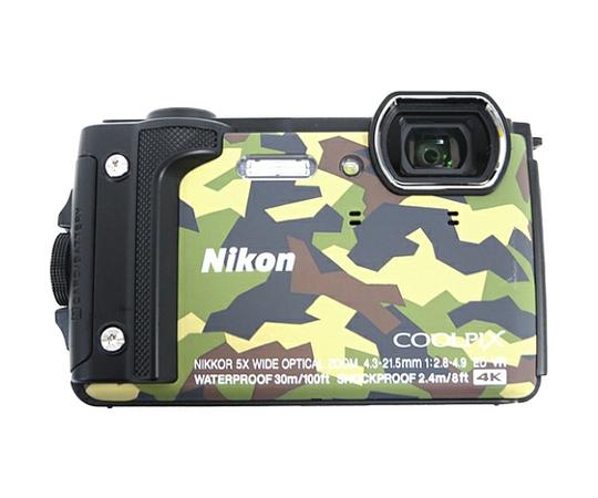 Nikon ニコン 防水カメラ COOLPIX W300 カモフラージュ デジタルカメラ デジカメ