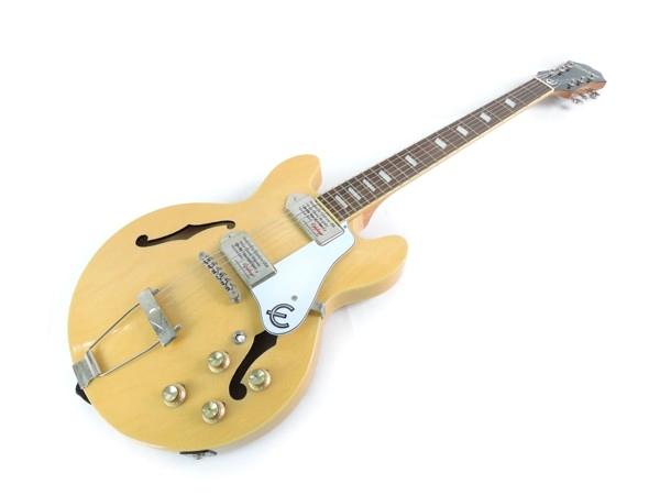 Epiphone Casino Coupe セミアコ ギター ケース 付き