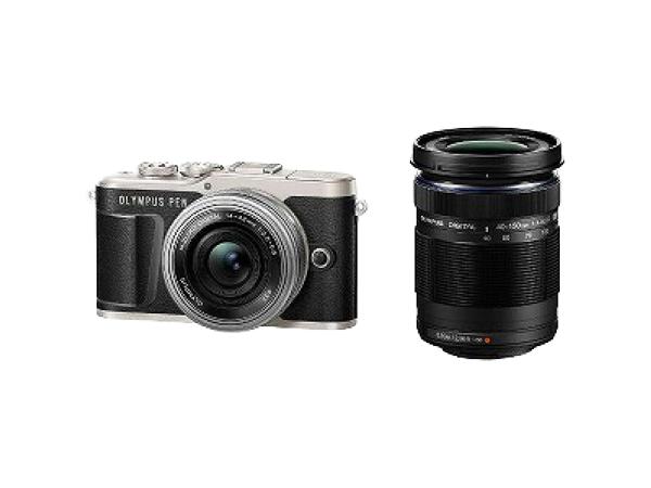 OLYMPUS オリンパス ミラーレス一眼 PEN E-PL9 EZ ダブルズームキット ブラック デジタル カメラ