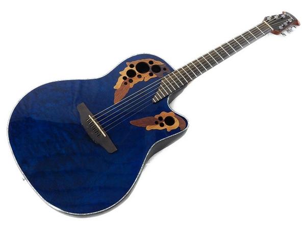 OVATION CE44P-8TQ エレアコ ギター ソフトケース付
