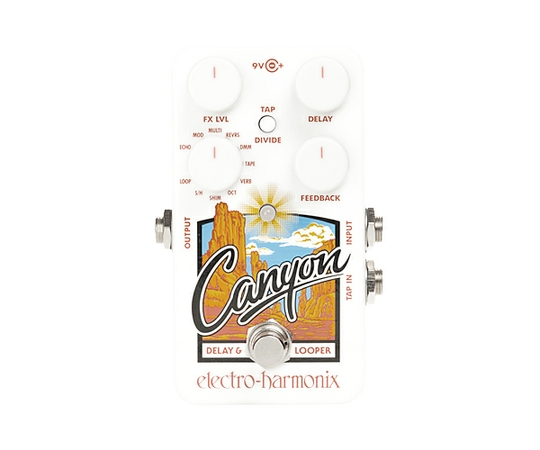 ELECTRO HARMONIX エレクトロハーモニクス Canyon Delay & Loopers ディレイ & ルーパー ギター エフェクター