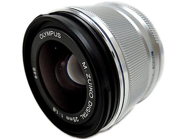 OLYMPUS オリンパス 交換レンズ M.ZUIKO DIGITAL 25mm F1.8 カメラ 単焦点 標準 シルバー M25F1.8SLV