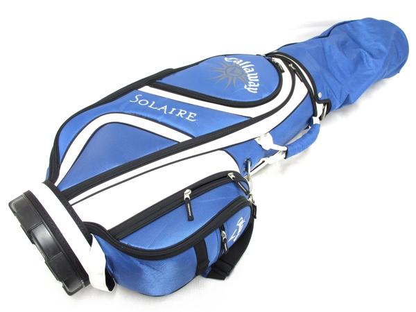 Callaway SOLAIRE ハーフクラブ セット 8本 レディース L ゴルフクラブ キャディバッグ  レディース L